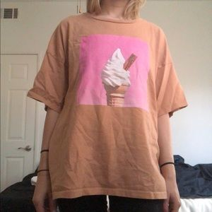 topman oversized graphic t shirt
